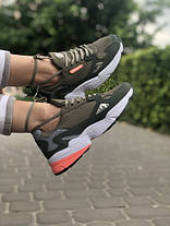 Женские кроссовки в стиле Adidas Falcon Olive, фото 2