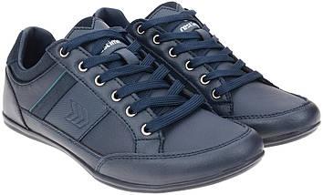 Кроссовки кожаные Restime PMB19337 синие, фото 3