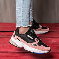 Женские кроссовки в стиле Adidas Falcon Pink