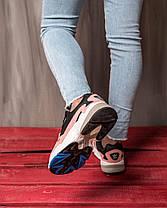 Женские кроссовки в стиле Adidas Falcon Pink, фото 2