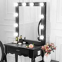 LED лампочки 10 шт для гримерного зеркала 3 режима Vanity Mirror Lights, фото 1