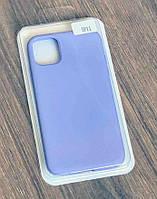 Тонкий силиконовый чехол-накладка Silicone Case Cover Full для iPhone 11