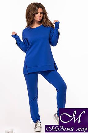 Женский повседневный костюм брюки + туника (р. 42, 44, 46) арт. 29-024, фото 2