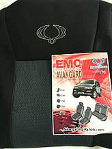 Чехлы на сиденья SSANGYONG KYRON  2005г…з/сп закрытый тыл  и сид.2/3 1/3;подл;5подг;airbag