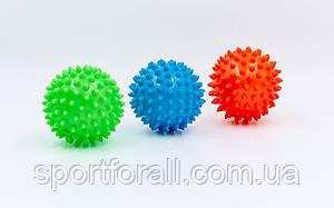 Мячик массажер резиновый  (d-8см, 40гр) FI-5653-8