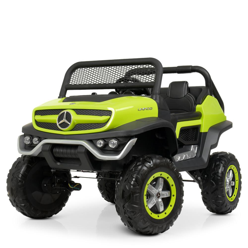 Детский электромобиль Mercedes Benz 4WD M 4133EBLR-5 зеленый