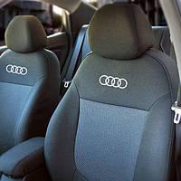 Чехлы на сиденья AUDI  A4 (B5)  1994-2000г. з/сп 2/3 1/3;подлок;4подгол;бочки;п/подл;airbag