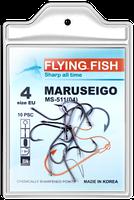 Крючок рыболовный Flying Fish MARUSEIGO MS-511  10шт