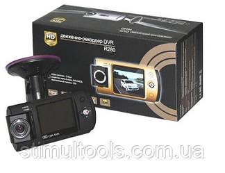 Автомобільний відеореєстратор Full HD DVR R280 з поворотною камерою