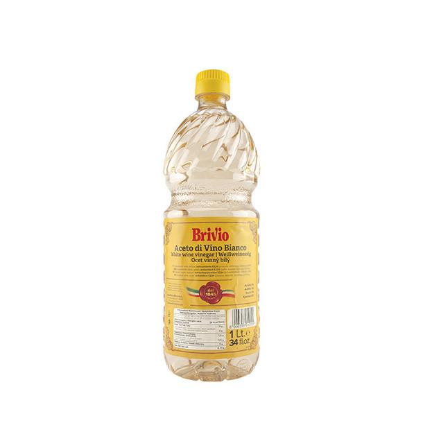 Оцет Brivio винний білий 6%, 1л, 12шт/ящ