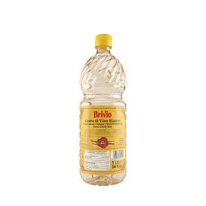 Оцет Brivio винний білий, 1л (12шт/ящ)