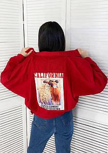 Джинсовая курточка с нашивкой на спинеХит сезона