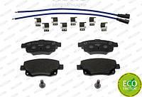 Ferodo FE FVR1930 Тормозные колодки задние Ford Transit