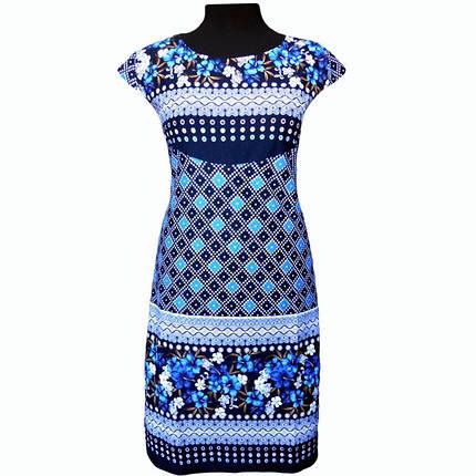 Платье летнее купонное в цветах, фото 2
