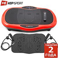 Виброплатформа Hop-Sport 3D HS-070VS Scout красный До 120 кг. Гарантия 24 мес. Германия
