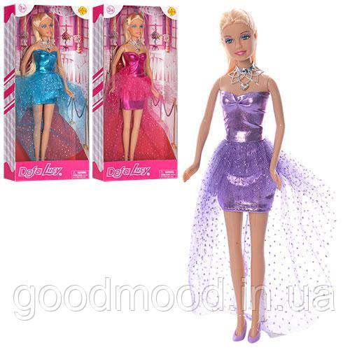 Лялька DEFA 8354 3 кольори, кор., 32-15-5 см.