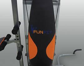Силовой тренажер Fun Fit нагрузка 65кг, многофункциональный, фото 2
