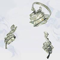 Гарнитур из серебра, модель 024 (PC-gr-124197-h)