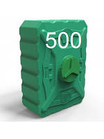 Бак пластиковый для воды объем 500 литров трёхслойный.