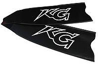 Стеклопластиковые лопасти для ласт KatranGun Black, фото 1