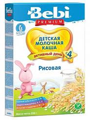 Молочная каша Bebi рисовая, 250 г