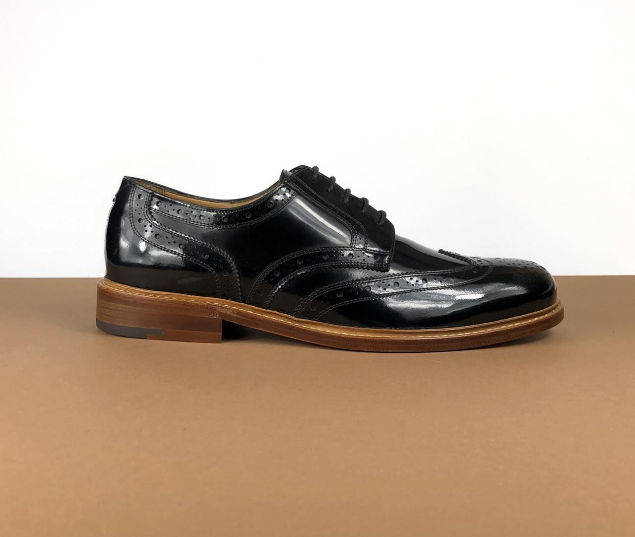 Мужские лакированные туфли Louis Vuitton (Луи Виттон) арт. 39-08