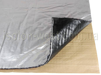 Виброшумка войлочная фольгированная 3в1 8ФСВВ/1.3 (50х70)см, толщина 9.3мм, влагостойкая, многослойная
