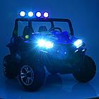 Двухместный детский электромобиль Багги 4WD M 3454EBLR-5 зеленый, фото 2