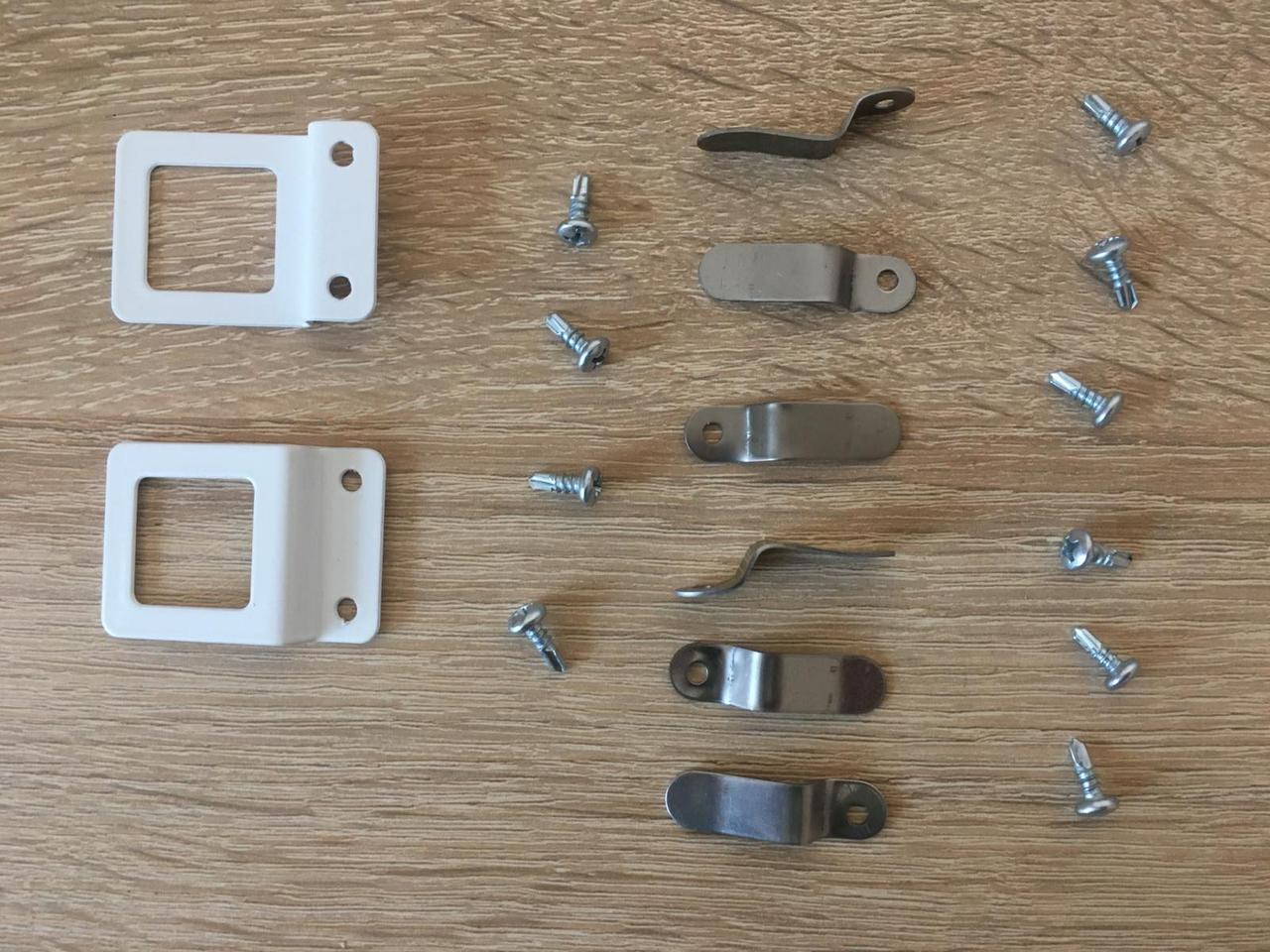 Крепления внутренних москитных сеток VIP ручки металл для трехкамерного профиля