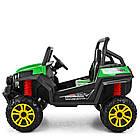 Двухместный детский электромобиль Багги 4WD M 3454EBLR-5 зеленый, фото 3