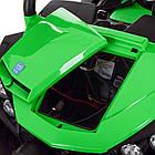 Двухместный детский электромобиль Багги 4WD M 3454EBLR-5 зеленый, фото 6