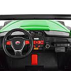 Двухместный детский электромобиль Багги 4WD M 3454EBLR-5 зеленый, фото 8