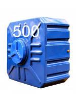 Емкость квадратная пластиковая двухслойная объем 500 литров.
