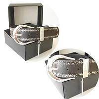 Ремень Dolce & Gabbana черный с отстрочкой