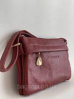 Молодежная мини сумочка клатч через плечо бордового цвета Pretty Woman Одесса 7 км, фото 1