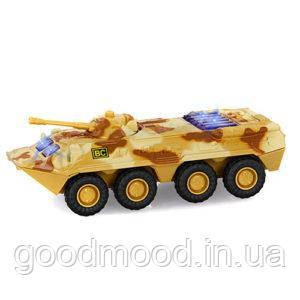 Військова машина 6409B мет., інерц., БТР, муз., світло, бат., кор., 17-7,5-7 см