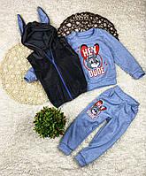 Детский спортивный костюм тройка, фото 1