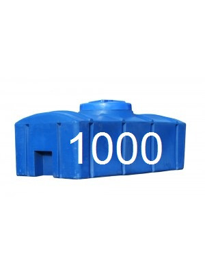 Бак для воды пластиковый двухслойный объем 1000 литров.
