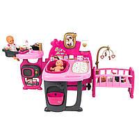 Игровой набор для ухода за куклой пупсом Комната малыша Smoby 220327 для детей, фото 1