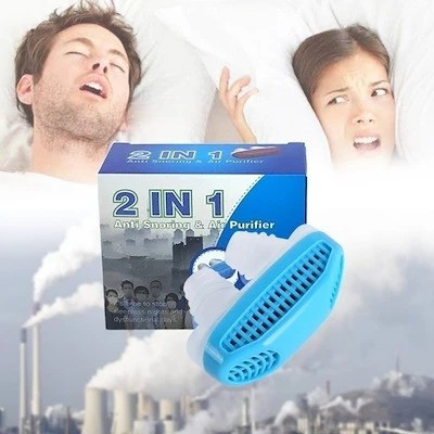 Устройство Антихрап  2 in 1 Anti Snoring & Air Purifier