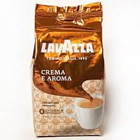 Кофе в зернах Lavazza Crema e Aroma, 1 кг, арабика - 40%,робуста - 60 %