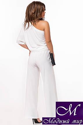 Брючный костюм женский белый (р. 42, 44, 46, 48) арт. 29-034, фото 2