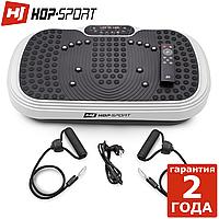Виброплатформа Hop-Sport HS-040VS Cube белый До 120 кг. Гарантия 24 мес. Германия