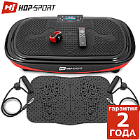 Виброплатформа Hop-Sport 4D HS-095VS Crown + массажный коврик + пульт управления/часы. Германия