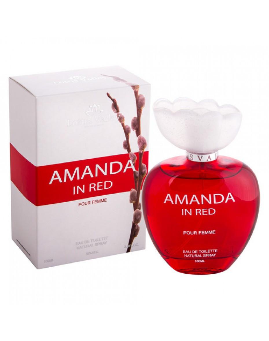 Amanda in Red Lotus Valley Women EDT 100 ml арт.32179
