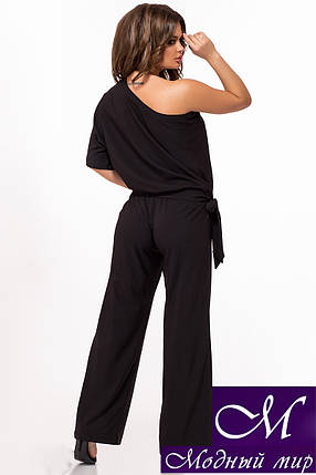 Брючный костюм женский черный (р. 42, 44, 46, 48) арт. 29-035, фото 2