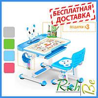 Детская парта со стульчиком трансформер Evo-kids BD-04 Teddy