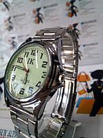 Мужские наручные часы ik на браслете светящийся циферблат