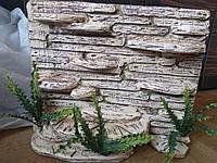 Фон для террариума - каменные ступеньки с укрытием, фото 1