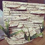 Фон для террариума - каменные ступеньки с укрытием, фото 4